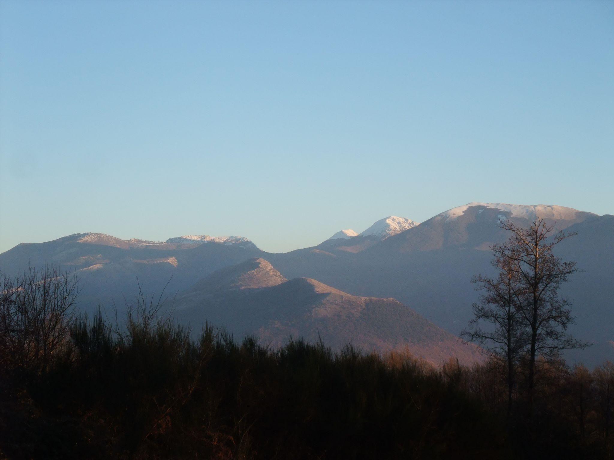 Catena dei monti del Pollino