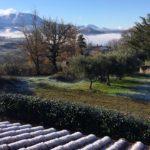 Panorama visibile dal B&B Le Cinque Cime, nel Parco Nazionale del Pollino